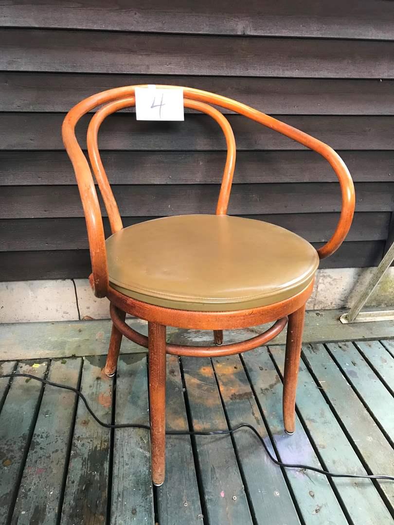 """Lot # 4 - Vintage Thonet Chair - 30.5""""t x 22.5"""" x 16.5""""d. (main image)"""