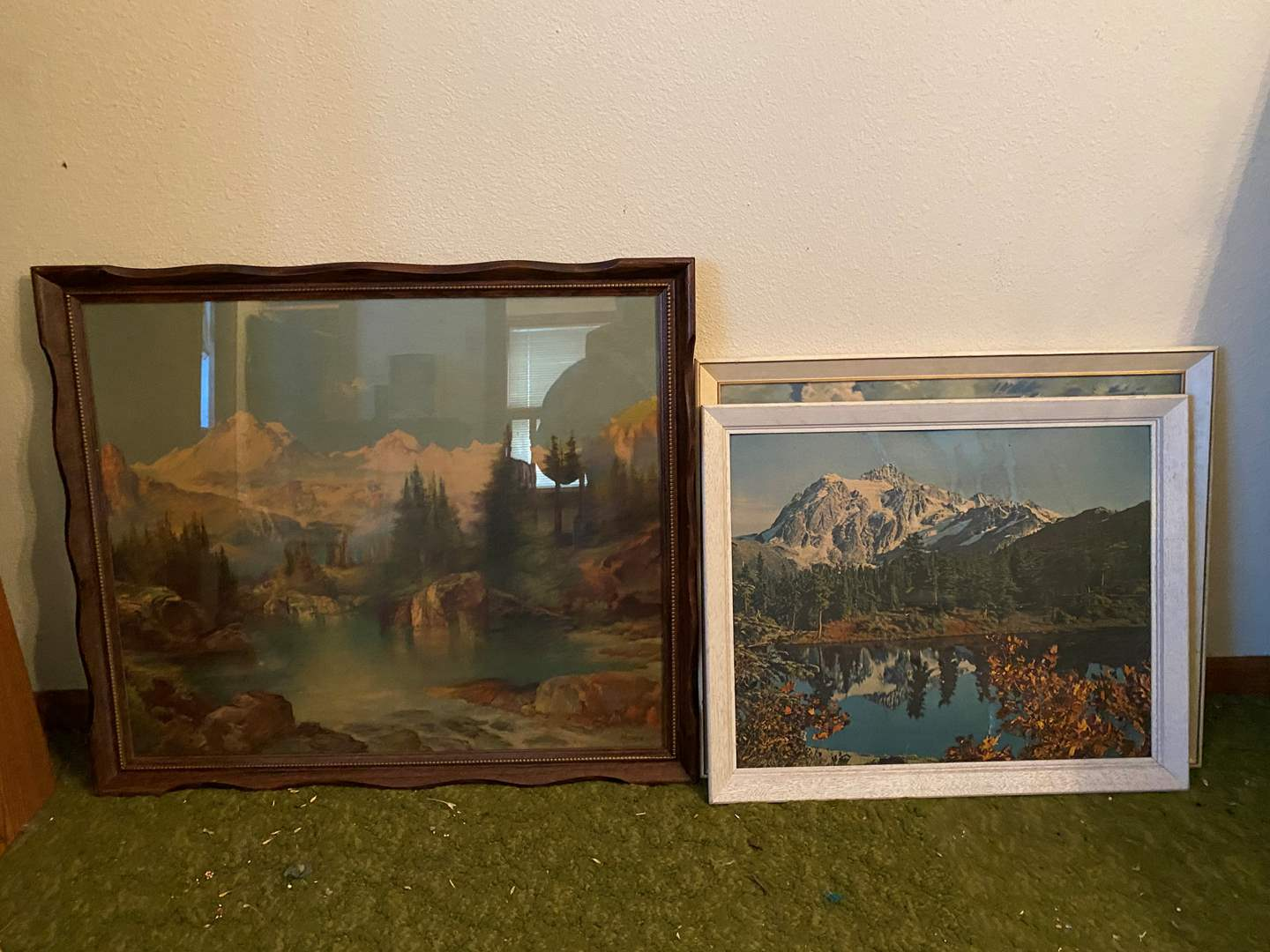 Lot # 255 - 3 Pieces of Wilderness Framed Art Work of Various Sizes (main image)
