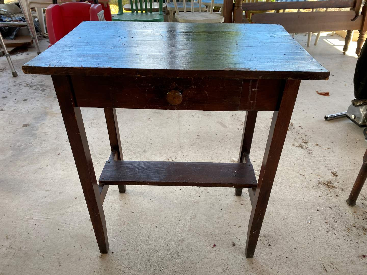 Lot # 273 - Antique Side Table  (main image)