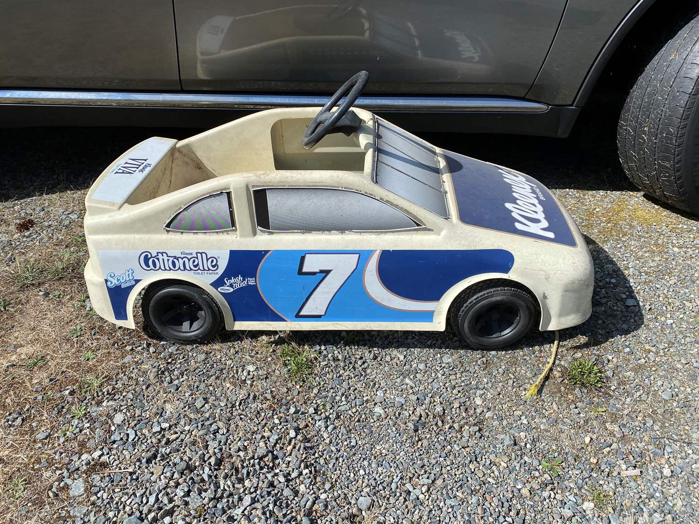 Lot # 281 - Vintage Kids NASCAR Pedal Car (main image)