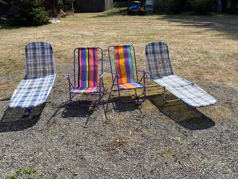 Lot # 282 - 4 Folding Chairs  (main image)