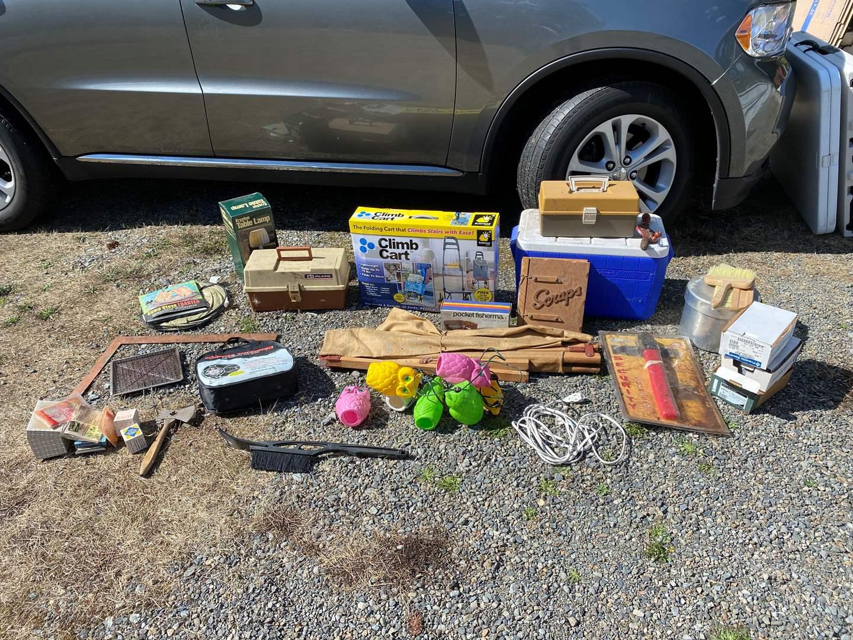 Lot # 285 - Camping & Tool Items  (main image)