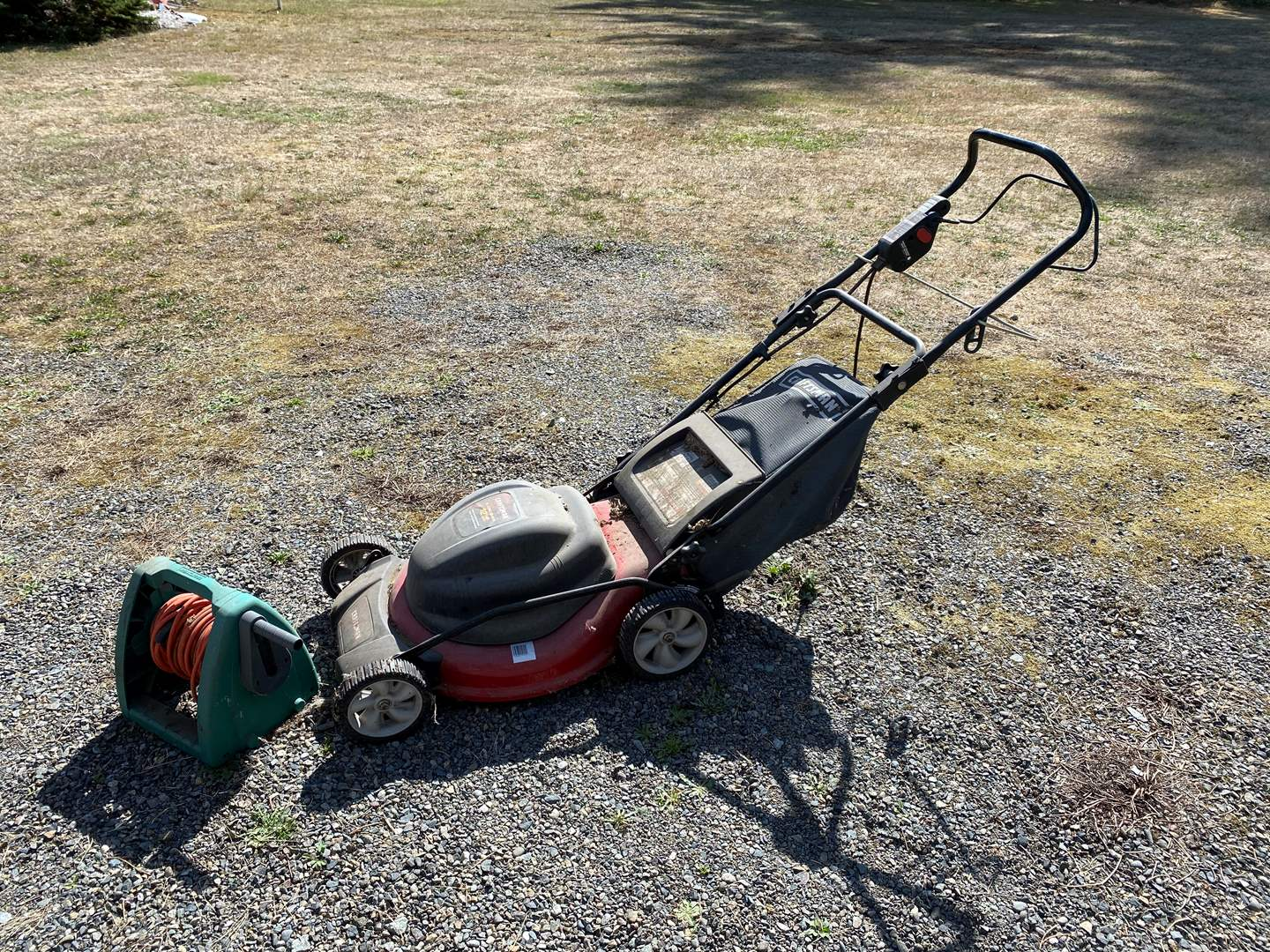 Lot # 287 - Craftsman Electric Lawn Mower w/Extension Cord  (main image)
