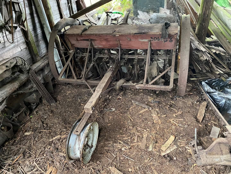 Lot # 306 - Antique Seeder (main image)