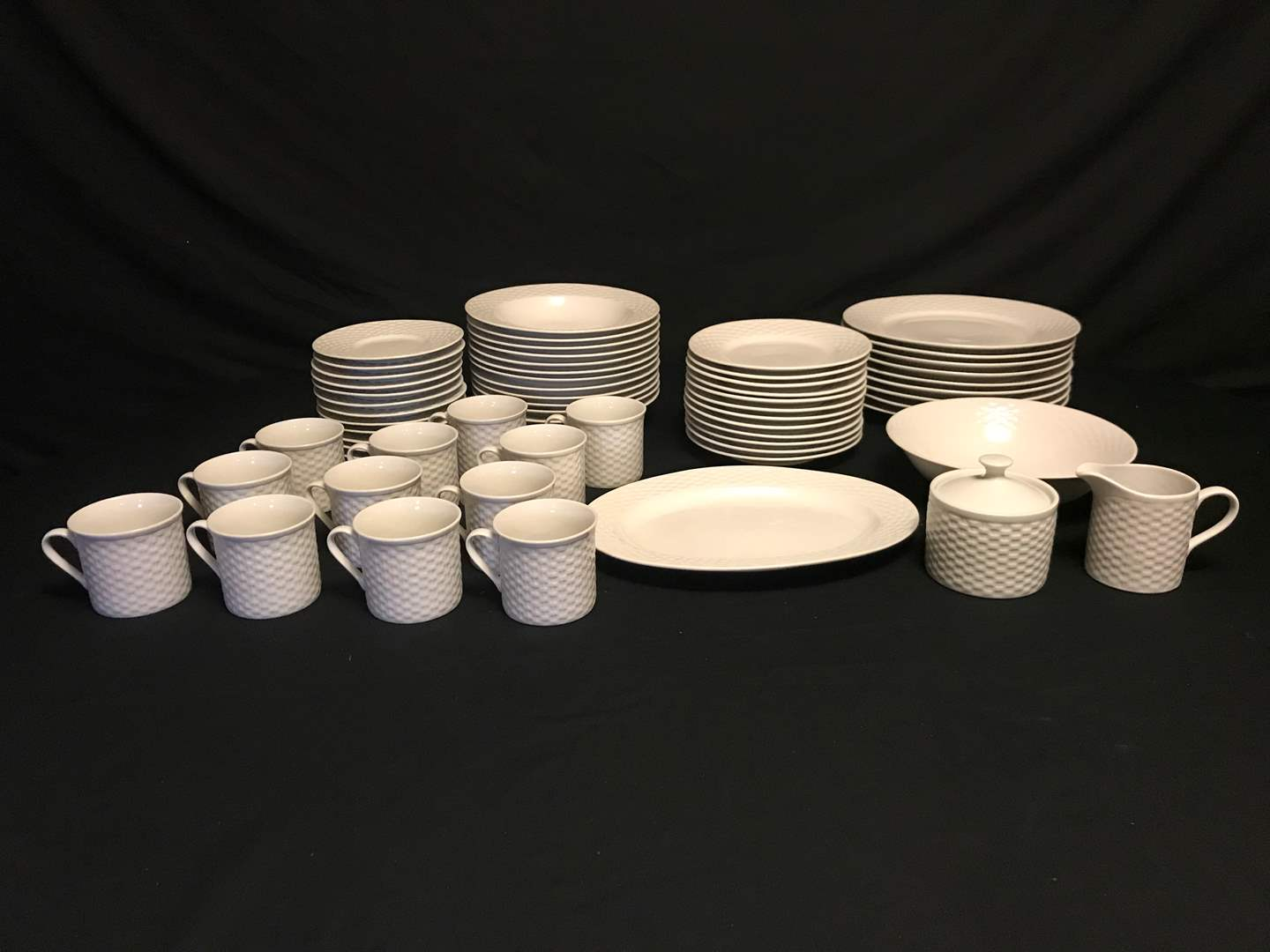 """Lot # 55 - 62 Piece Set of JCPenny """"Home Collection"""" Dinnerware  (main image)"""