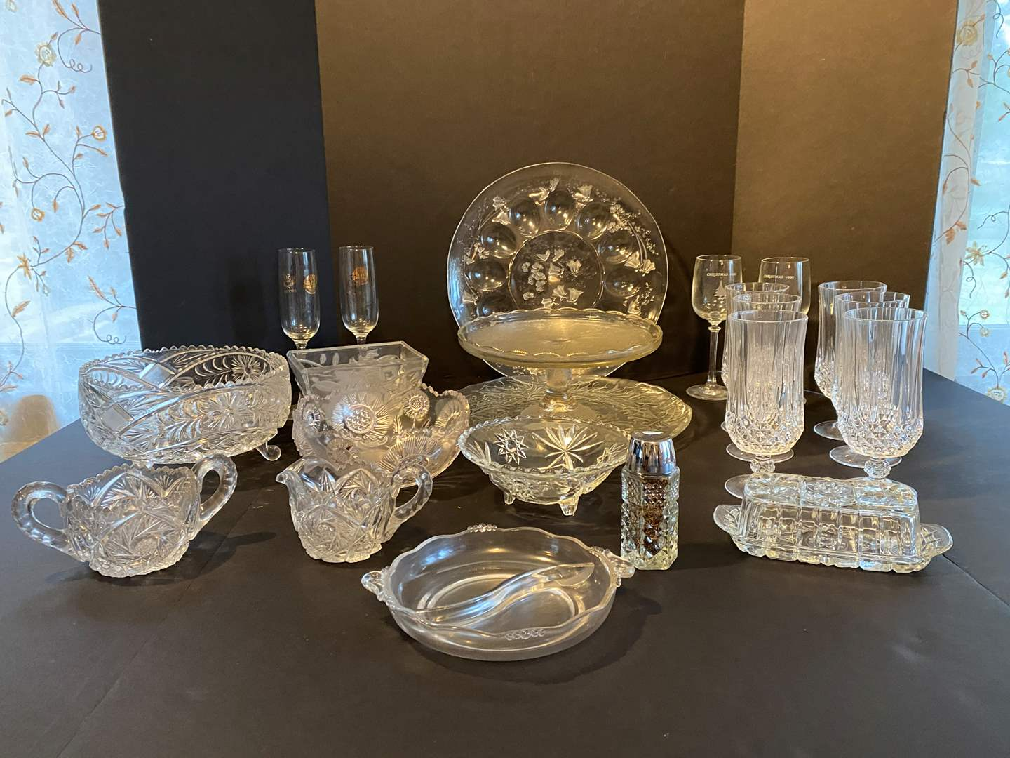 Lot # 57 - Selection of Crystal & Glassware  (main image)