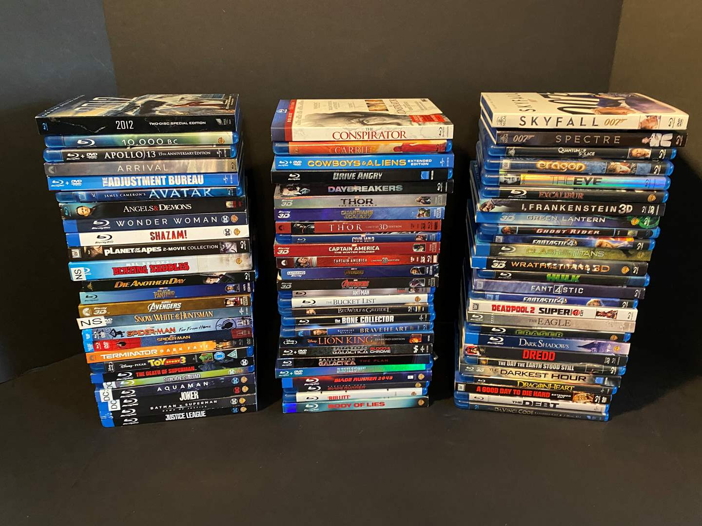 Lot # 23 - Great Collection of Blu-Ray DVD Movies - See Pictures for Titles  (main image)