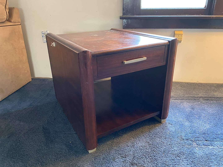 Lot # 47 - Wood Side Table  (main image)