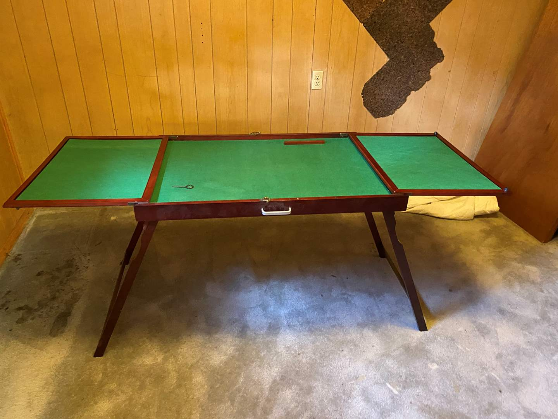 Lot # 118 - Folding Table  (main image)