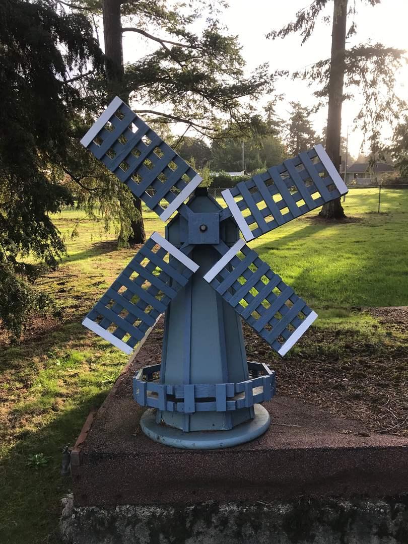 Lot # 138 - Wood Windmill  (main image)