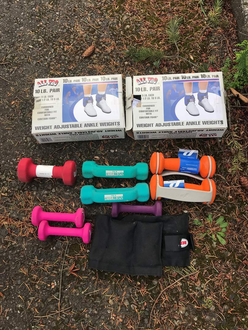 Lot # 149 - Fitness Weights - See Pictures for Weight Details (main image)