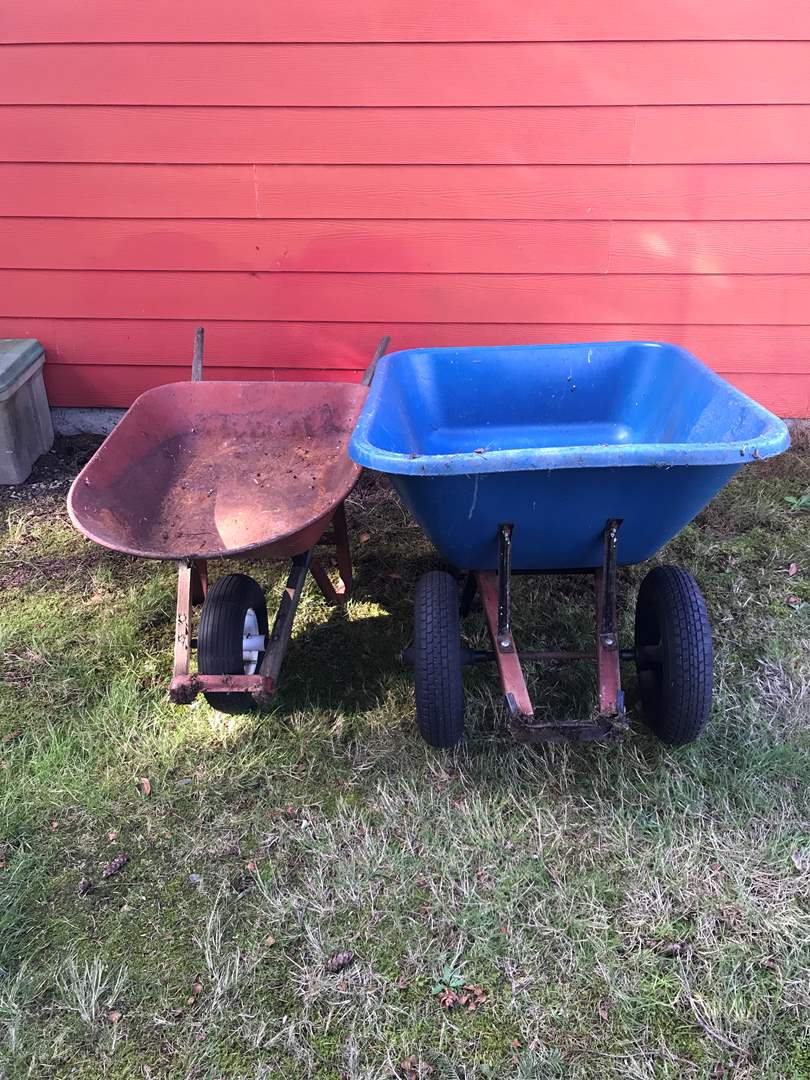 Lot # 173 - 2 Wheelbarrows (main image)