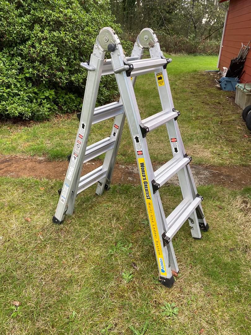 Lot # 202 - World's Greatest Multi Ladder System (main image)