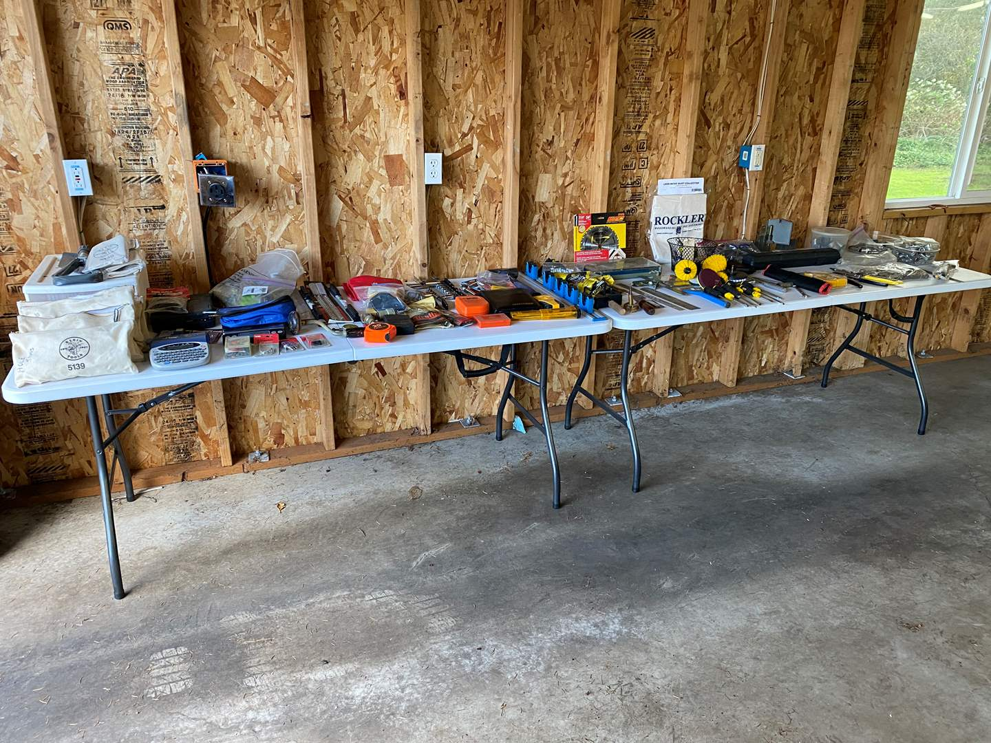 Lot # 207 - Large Selection of Hand Tools, Craftsman, Kobalt, Screw Drivers, Sockets, Saw Blades & More.. (main image)