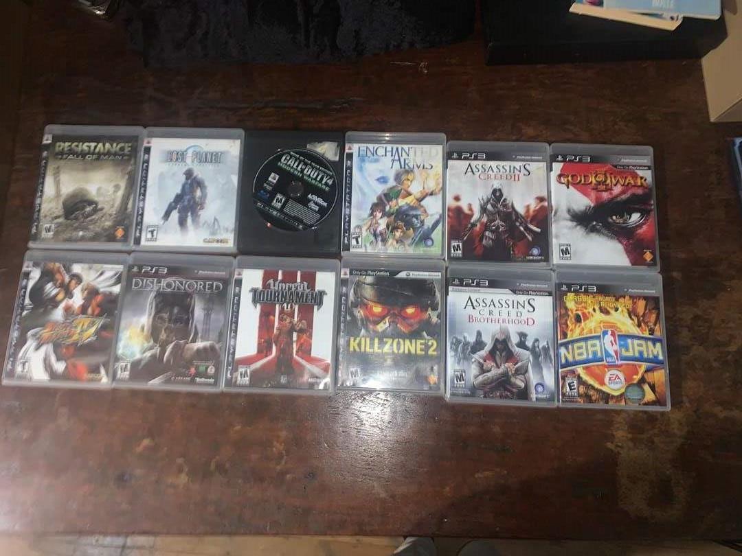 Lot # 22 - Lot of (12) PS3 Games (main image)