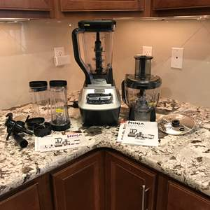 Lot # 50 - New Never Used Ninja Mega Kitchen System - Model #BL773C0