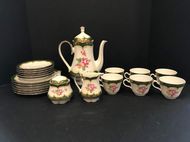 Lot # 55 - 23 Piece Set of Winterling China Tea Set (main image)