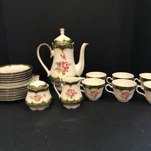 Lot # 55 - 23 Piece Set of Winterling China Tea Set