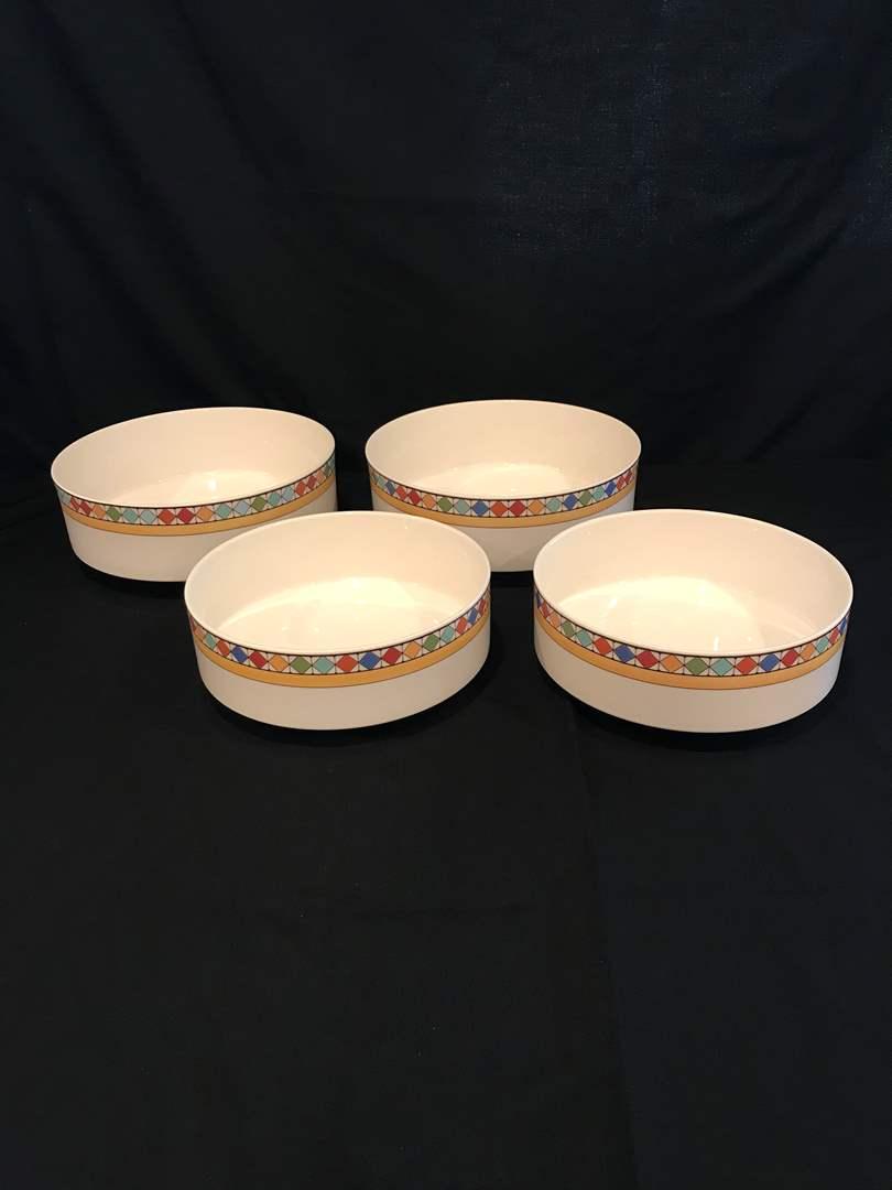 Lot # 58 - 4 Villeroy & Boch Bowls  (main image)