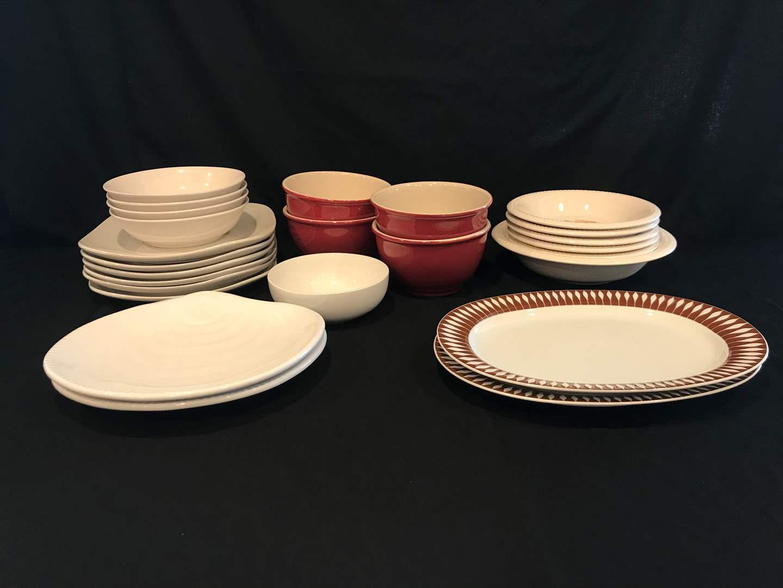 Lot # 60 - Bowls, Plates & Serving Dishes: Thomas, Royal Norfolk (main image)