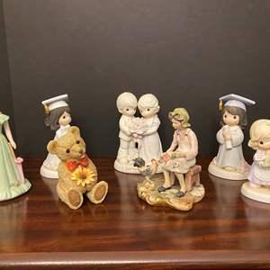 Lot # 19 - Precious Moments Figurines w/ Cabrelli Capodimonte Figurine & More..