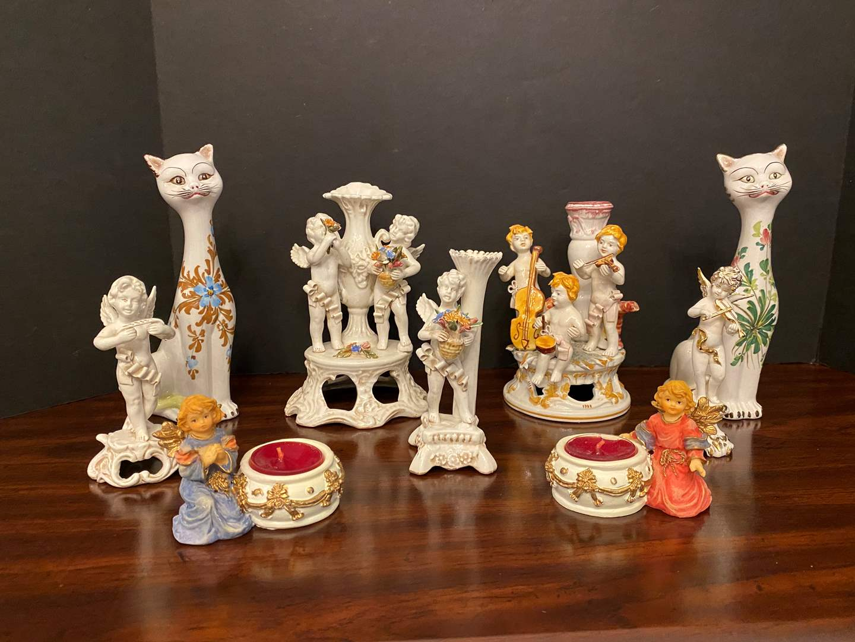 "Lot # 21 - Signed ""Bassano"" Porcelain Figurines & More.. (main image)"