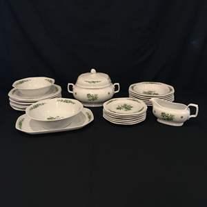 """Lot # 66 - 24 Piece Set of Seltmann Weiden Bavaria """"Mirabell"""" Dinnerware"""