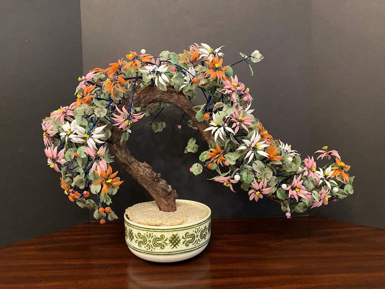 Lot # 33 - Large Beautiful Jade Bonsai Tree  (main image)