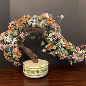Lot # 33 - Large Beautiful Jade Bonsai Tree