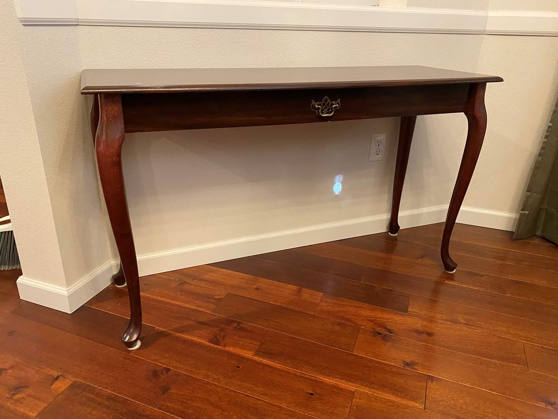 Lot # 43 - Wood Sofa Table  (main image)