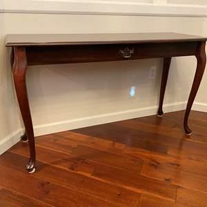 Lot # 43 - Wood Sofa Table