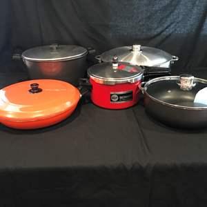 Lot # 76 - Pots & Pans, German Pressure Cooker
