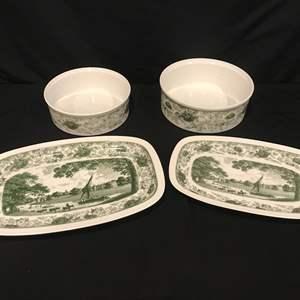 Lot # 83 - 4 Piece Set of Royal Tettau Herrennausen China