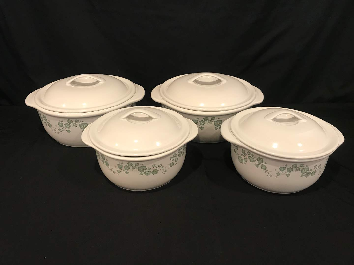Lot # 84 - 4 Corelle Coordinates Stoneware Baking Dishes (main image)