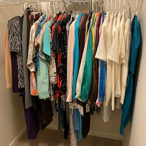 Lot # 123 - Nice Selection of Women's Clothing - Most Sizes 12,14 & 16 Some New w/Tags - See Pictures for Details
