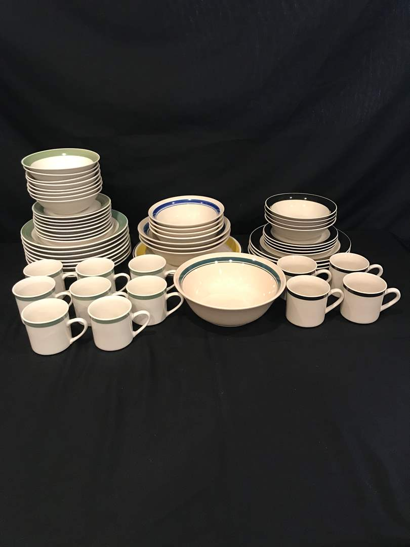 Lot # 86 - 48 Pieces of Gibson Dinnerware & 9 Pieces of Misc. Stoneware (main image)