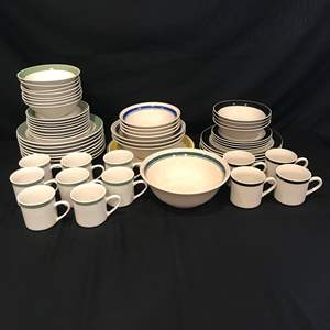 Lot # 86 - 48 Pieces of Gibson Dinnerware & 9 Pieces of Misc. Stoneware
