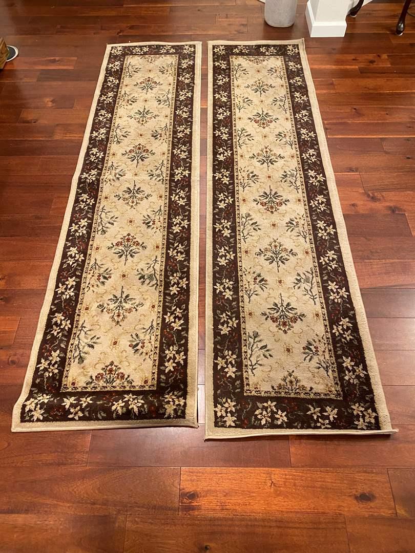 "Lot # 132 - Two ""Oriental Weavers"" Matching Rug Runners (main image)"