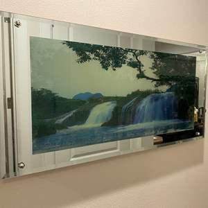 Lot # 137 - Beautiful Automated/Lighted Wall Art