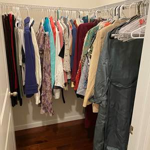 Lot # 138 - Large Selection of Woman's Clothing of Various Sizes - See Pictures