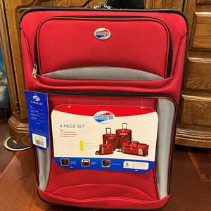 """Lot # 142 - Brand New 4-Piece Set of """"American Tourister"""" Luggage"""