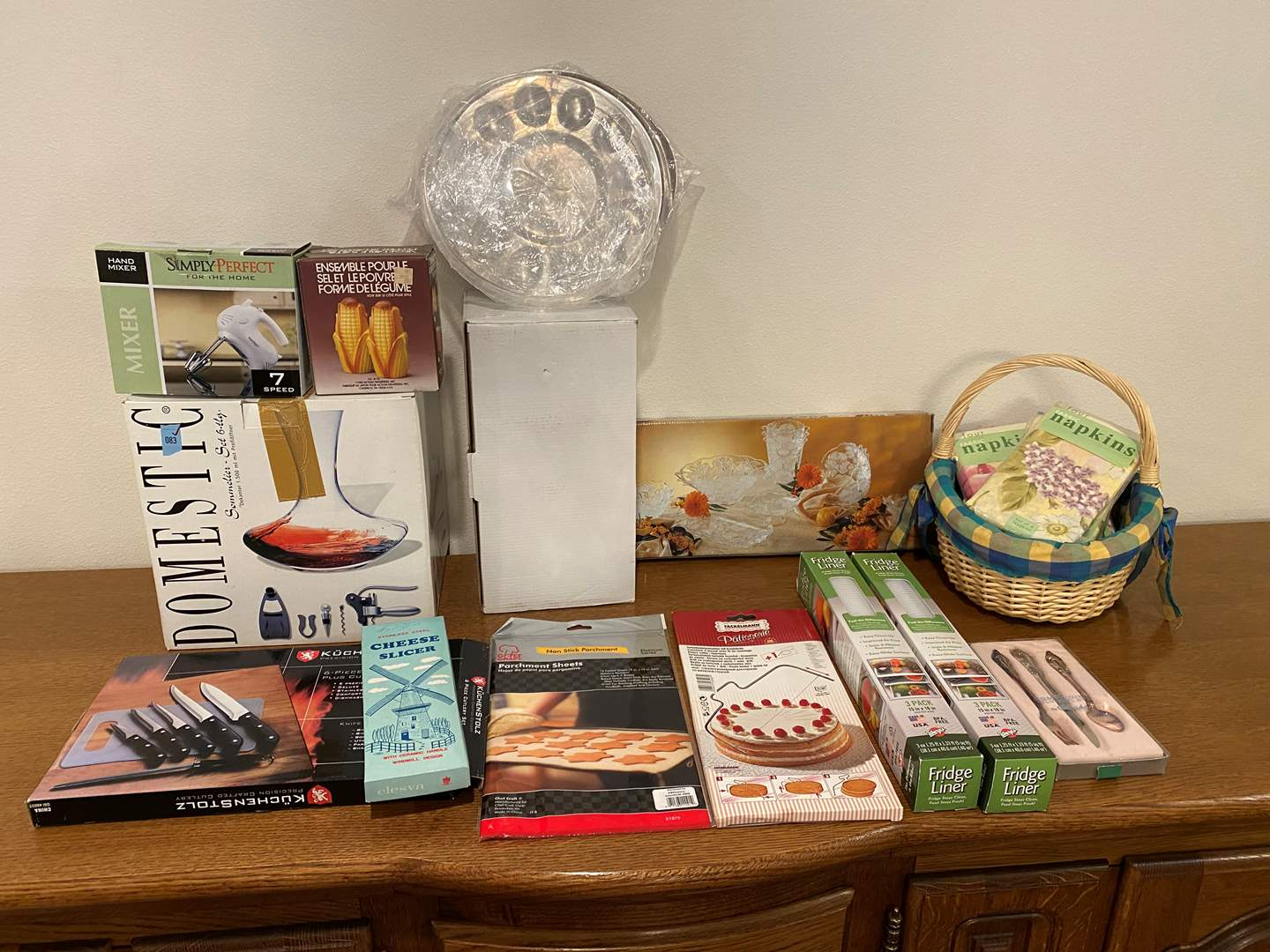 Lot # 146 - Nice Selection of New Kitchen Items - See Pictures (main image)