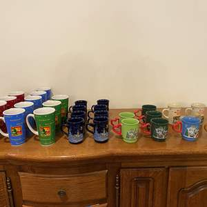 Lot # 161 - Selection of German Christmas Mugs