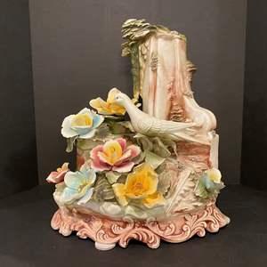 Lot # 162 - Large Capodimonte Floral Arrangement