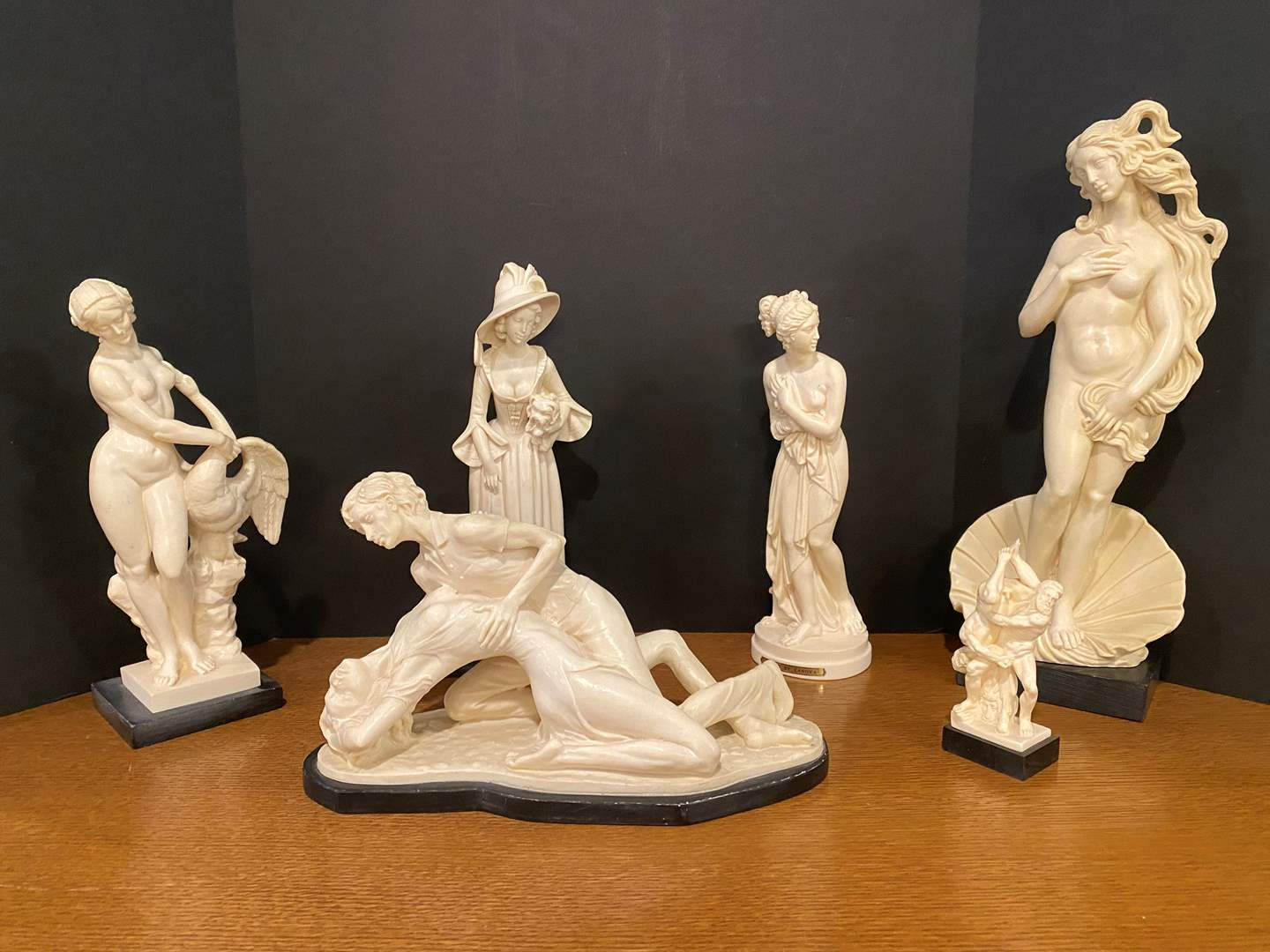 Lot # 165 - Collection of Italian Sculptures by A.Santini, G.Ruggeri & More.. (main image)