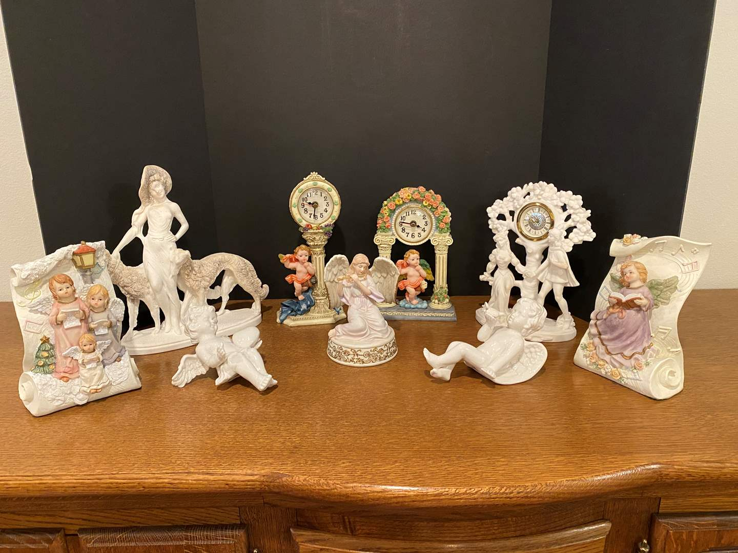 Lot # 167 - Nice Collection of Angel Decor & Italian Sculptures  (main image)