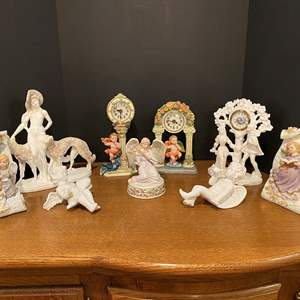 Lot # 167 - Nice Collection of Angel Decor & Italian Sculptures