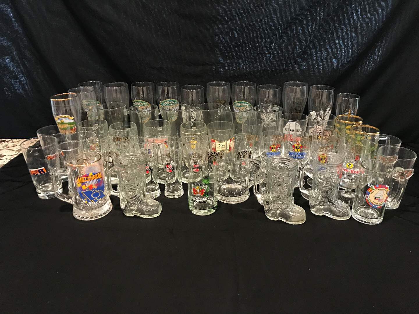 Lot # 211 - Large Collection of German Beer Glasses (main image)