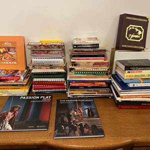 Lot # 177 - Books: Religious, Cooking, Geographical & More..