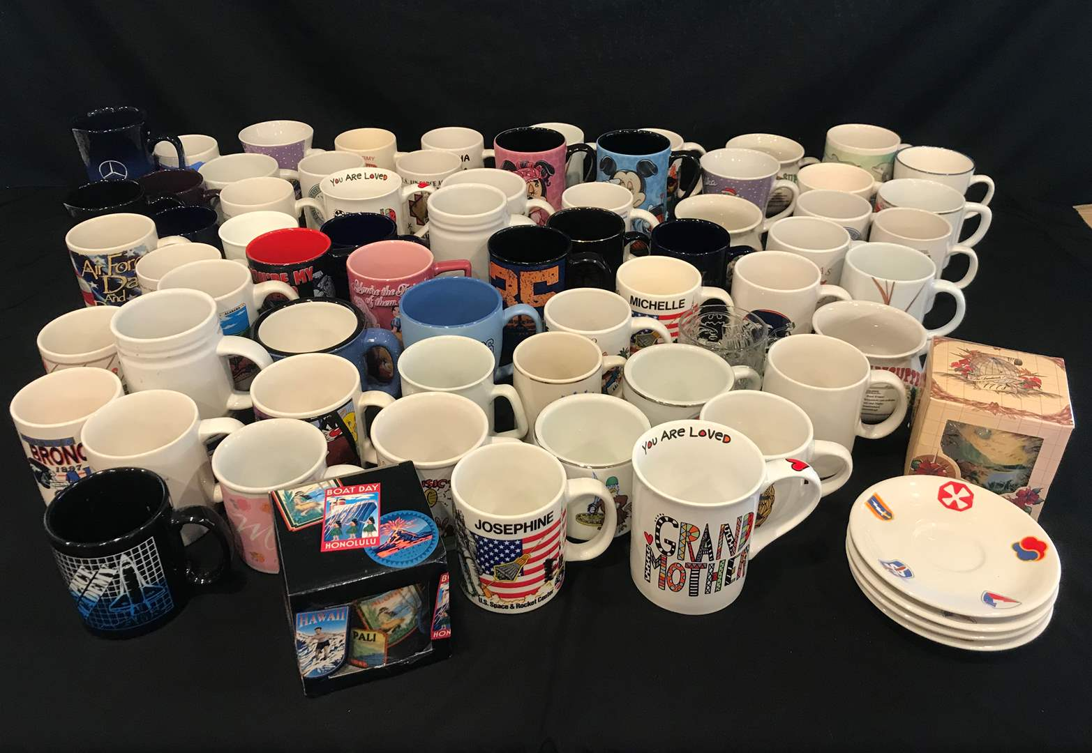Lot # 215 - Large Variety of Coffee Mugs (main image)